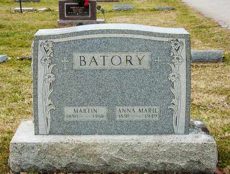 BATORY, MARTIN - Crawford County, Ohio | MARTIN BATORY - Ohio Gravestone Photos