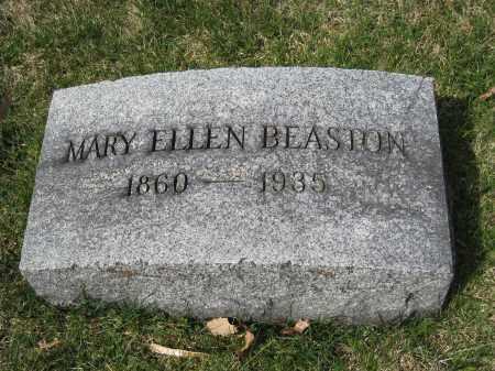 BEASTON, MARY ELLEN - Crawford County, Ohio | MARY ELLEN BEASTON - Ohio Gravestone Photos