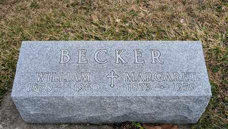 BECKER, MARGARET - Crawford County, Ohio | MARGARET BECKER - Ohio Gravestone Photos