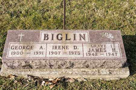 BIGLIN, GEORGE A - Crawford County, Ohio | GEORGE A BIGLIN - Ohio Gravestone Photos