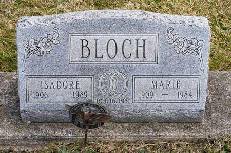 BLOCH, ISADORE - Crawford County, Ohio | ISADORE BLOCH - Ohio Gravestone Photos