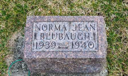 BLUBAUGH, NORMA JEAN - Crawford County, Ohio   NORMA JEAN BLUBAUGH - Ohio Gravestone Photos