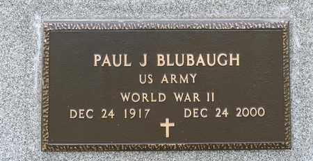 BLUBAUGH, PAUL J - Crawford County, Ohio | PAUL J BLUBAUGH - Ohio Gravestone Photos