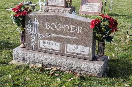 BOGNER, EARL F - Crawford County, Ohio   EARL F BOGNER - Ohio Gravestone Photos