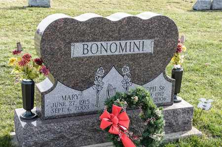 BONOMINI, MARY - Crawford County, Ohio | MARY BONOMINI - Ohio Gravestone Photos