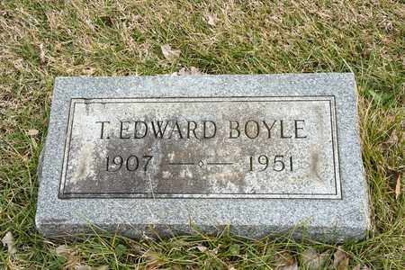 BOYLE, T EDWARD - Crawford County, Ohio | T EDWARD BOYLE - Ohio Gravestone Photos