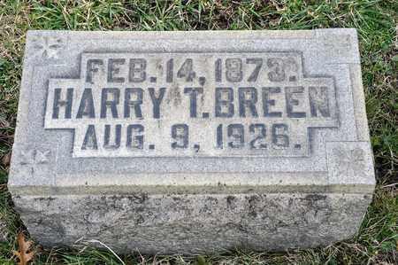 BREEN, HARRY T - Crawford County, Ohio   HARRY T BREEN - Ohio Gravestone Photos