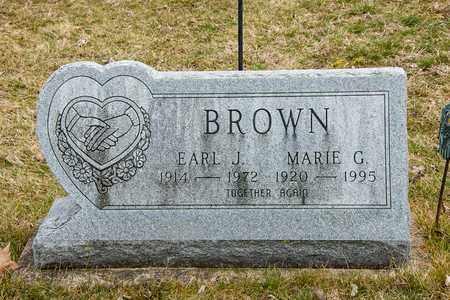 BROWN, MARIE G - Crawford County, Ohio | MARIE G BROWN - Ohio Gravestone Photos