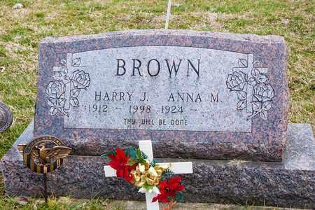 BROWN, ANNA M - Crawford County, Ohio | ANNA M BROWN - Ohio Gravestone Photos