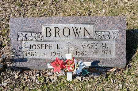 BROWN, JOSEPH E - Crawford County, Ohio | JOSEPH E BROWN - Ohio Gravestone Photos