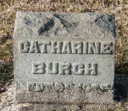BURCH, CATHARINE - Crawford County, Ohio | CATHARINE BURCH - Ohio Gravestone Photos