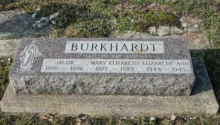 BURKHARDT, JACOB - Crawford County, Ohio | JACOB BURKHARDT - Ohio Gravestone Photos