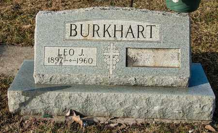 BURKHART, LEO J - Crawford County, Ohio | LEO J BURKHART - Ohio Gravestone Photos
