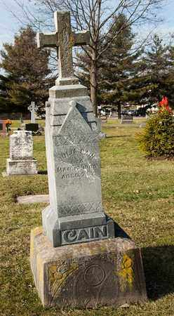 CAIN, JULIA - Crawford County, Ohio | JULIA CAIN - Ohio Gravestone Photos