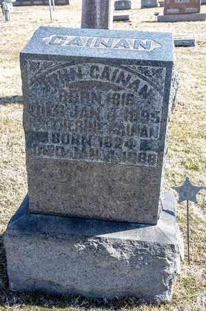 CAINAN, JOHN - Crawford County, Ohio | JOHN CAINAN - Ohio Gravestone Photos