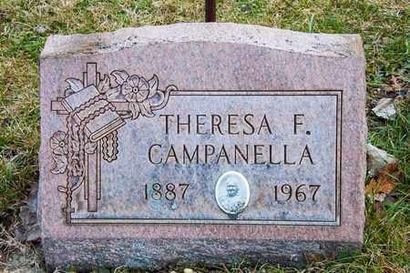 CAMPANELLA, THERESA F - Crawford County, Ohio | THERESA F CAMPANELLA - Ohio Gravestone Photos
