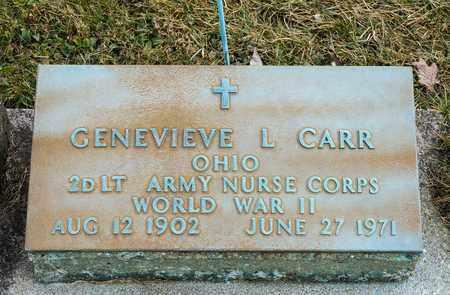 CARR, GENEVIEVE L - Crawford County, Ohio | GENEVIEVE L CARR - Ohio Gravestone Photos