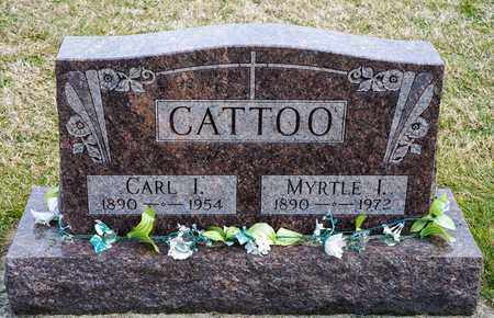 CATTOO, MYRTLE I - Crawford County, Ohio | MYRTLE I CATTOO - Ohio Gravestone Photos