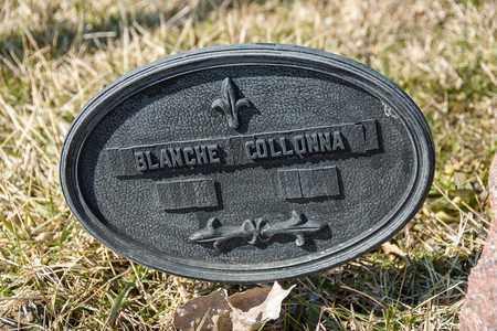 COLLONNA, BLANCHE M - Crawford County, Ohio | BLANCHE M COLLONNA - Ohio Gravestone Photos