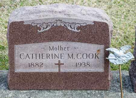 COOK, CATHERINE M - Crawford County, Ohio | CATHERINE M COOK - Ohio Gravestone Photos