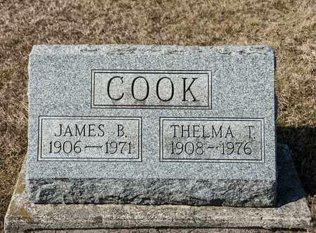 COOK, JAMES B - Crawford County, Ohio | JAMES B COOK - Ohio Gravestone Photos