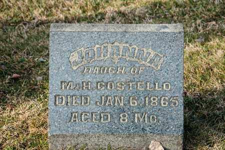 COSTELLO, JOHANNA - Crawford County, Ohio   JOHANNA COSTELLO - Ohio Gravestone Photos