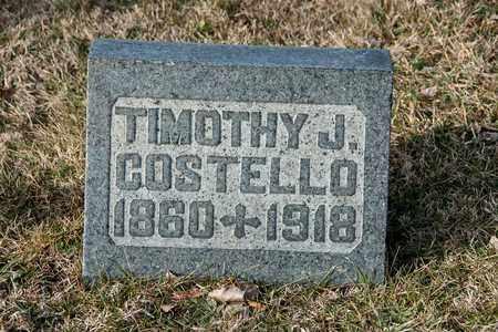 COSTELLO, TIMOTHY J - Crawford County, Ohio | TIMOTHY J COSTELLO - Ohio Gravestone Photos