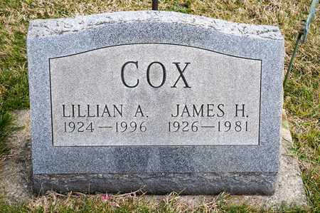 COX, LILLIAN A - Crawford County, Ohio | LILLIAN A COX - Ohio Gravestone Photos