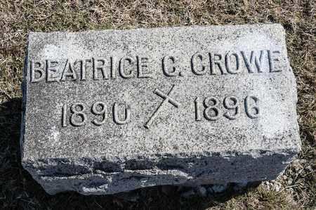 CROWE, BEATRICE C - Crawford County, Ohio | BEATRICE C CROWE - Ohio Gravestone Photos