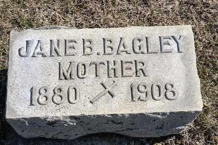 BAGLEY CROWE, JANE B - Crawford County, Ohio | JANE B BAGLEY CROWE - Ohio Gravestone Photos