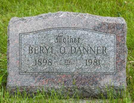 HARDING DANNER, BERYL O - Crawford County, Ohio   BERYL O HARDING DANNER - Ohio Gravestone Photos