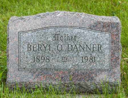 DANNER, BERYL O - Crawford County, Ohio   BERYL O DANNER - Ohio Gravestone Photos