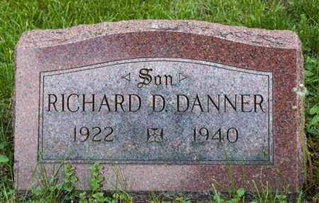 DANNER, RICHARD D. - Crawford County, Ohio | RICHARD D. DANNER - Ohio Gravestone Photos