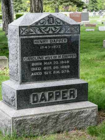 DAPPER, HENRY - Crawford County, Ohio | HENRY DAPPER - Ohio Gravestone Photos