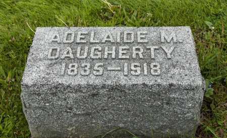 DAUGHERTY, ADELAIDE M. - Crawford County, Ohio | ADELAIDE M. DAUGHERTY - Ohio Gravestone Photos