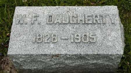 DAUGHERTY, W. F. - Crawford County, Ohio | W. F. DAUGHERTY - Ohio Gravestone Photos