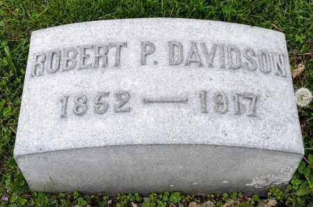 DAVIDSON, ROBERT P. - Crawford County, Ohio | ROBERT P. DAVIDSON - Ohio Gravestone Photos