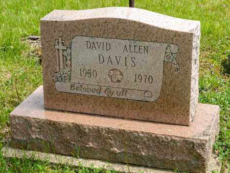 DAVIS, DAVID ALLEN - Crawford County, Ohio | DAVID ALLEN DAVIS - Ohio Gravestone Photos