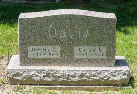 DAVIS, DOROTHY L. - Crawford County, Ohio   DOROTHY L. DAVIS - Ohio Gravestone Photos