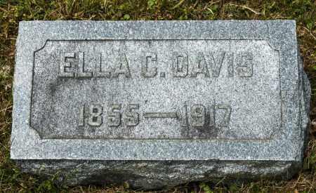CARPENTER DAVIS, ELLA - Crawford County, Ohio | ELLA CARPENTER DAVIS - Ohio Gravestone Photos