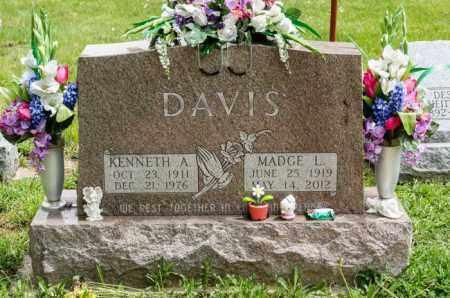 DAVIS, MADGE L. - Crawford County, Ohio | MADGE L. DAVIS - Ohio Gravestone Photos
