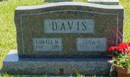 DAVIS, EDNA A. - Crawford County, Ohio | EDNA A. DAVIS - Ohio Gravestone Photos