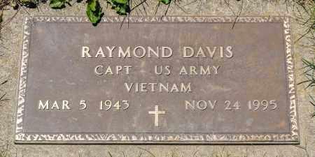 DAVIS, RAYMOND - Crawford County, Ohio   RAYMOND DAVIS - Ohio Gravestone Photos