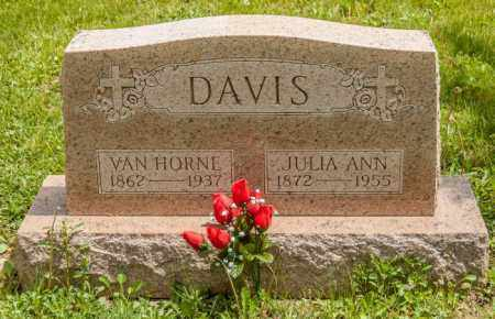 DAVIS, JULIA ANN - Crawford County, Ohio | JULIA ANN DAVIS - Ohio Gravestone Photos