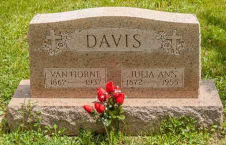 DAVIS, VAN HORNE - Crawford County, Ohio | VAN HORNE DAVIS - Ohio Gravestone Photos