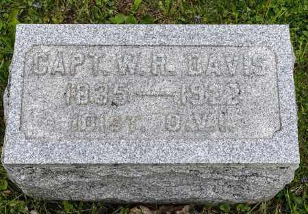 DAVIS, W. R. - Crawford County, Ohio   W. R. DAVIS - Ohio Gravestone Photos