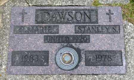 DAWSON, R. MARIE - Crawford County, Ohio | R. MARIE DAWSON - Ohio Gravestone Photos