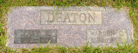 DEATON, WARREN C. - Crawford County, Ohio | WARREN C. DEATON - Ohio Gravestone Photos