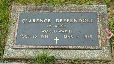 DEFFENDOLL, CLARENCE - Crawford County, Ohio   CLARENCE DEFFENDOLL - Ohio Gravestone Photos