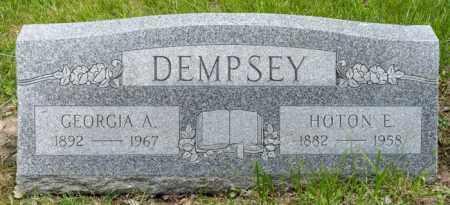 DEMPSEY, GEORGIA A. - Crawford County, Ohio | GEORGIA A. DEMPSEY - Ohio Gravestone Photos